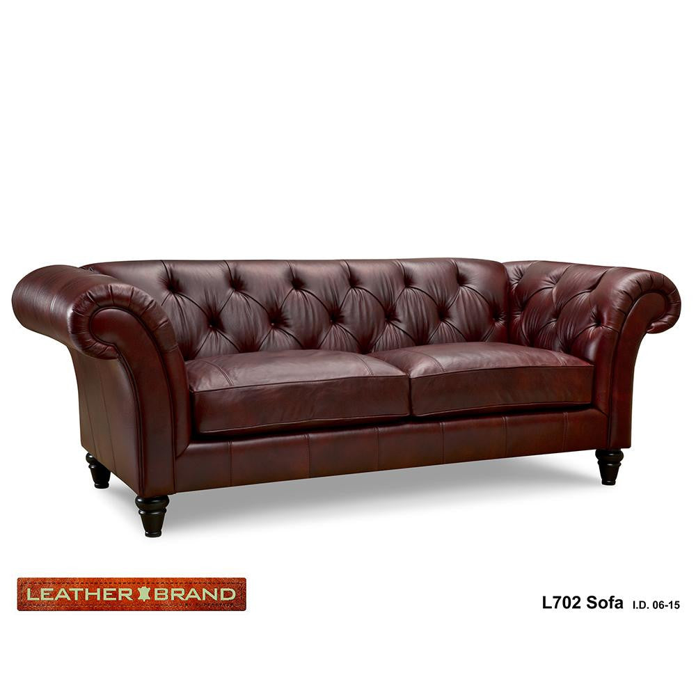 Leather Loveseat - L702