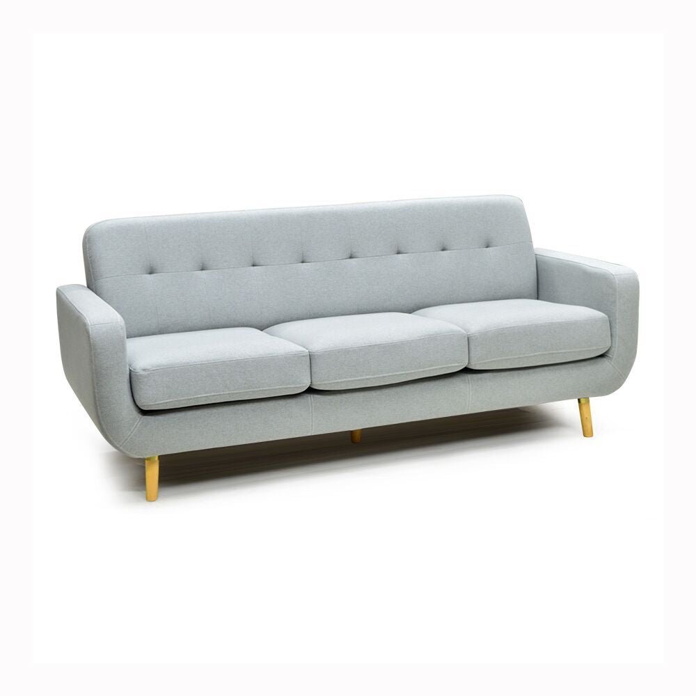 Contemporary Condo Size Fabric Sofa - 7102