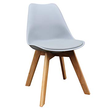 Modern Side Grey Chair - Novita