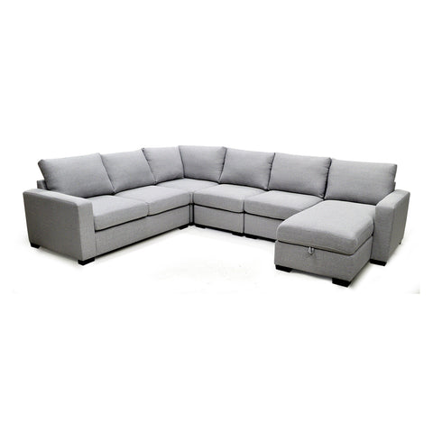 Adjustable Fabric Sectional Sofa- 7257