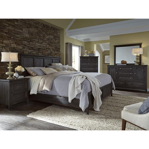Mill River Country Style Bedroom Collection- B3803