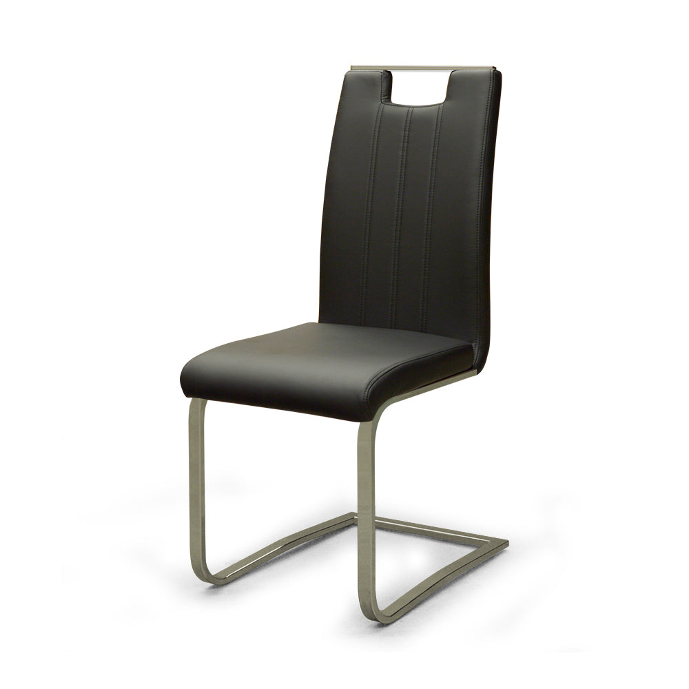 Black Color Dining Chair - 738S4