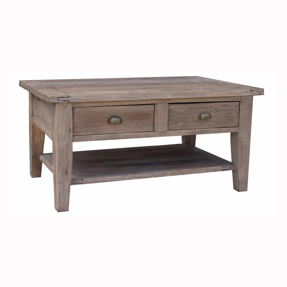 Irish Coast Coffee Table - Sundried