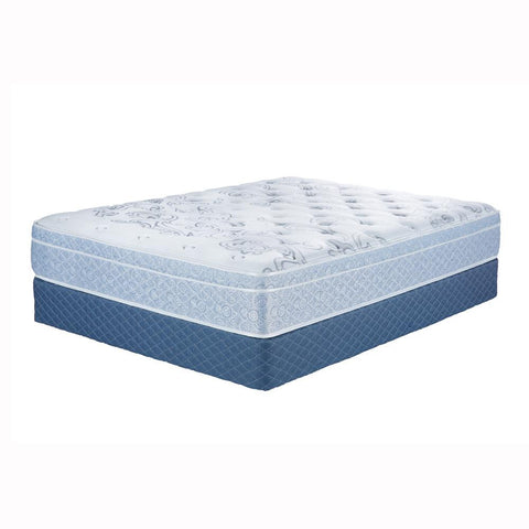 690 Pocket Coils Serta Queen Plush Mattress - Simonton