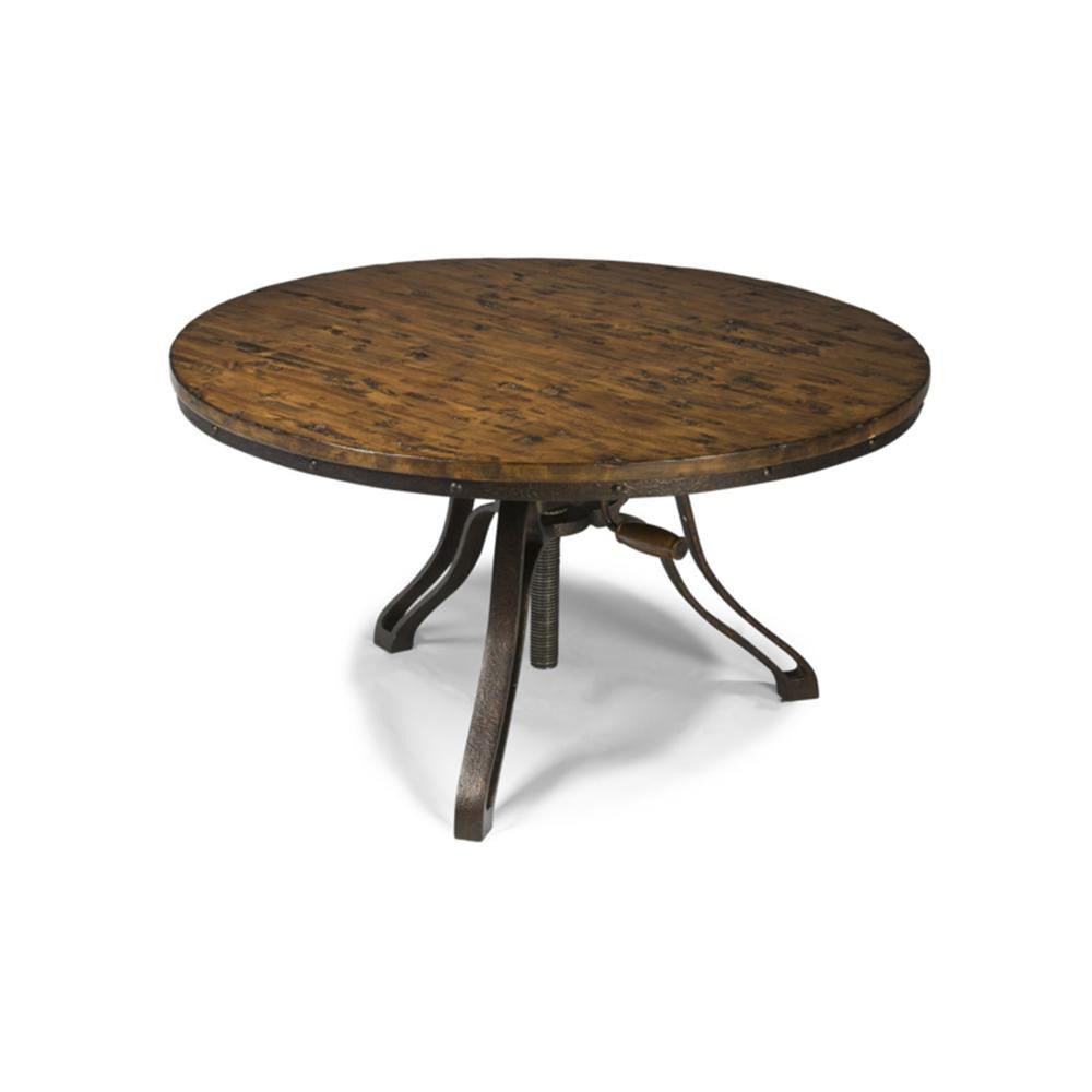 Solid Pine Round Top Coffee Table - T2299