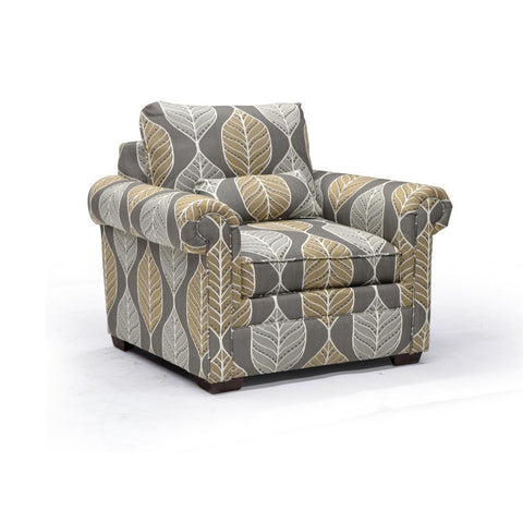 Deep Seat Custom Accent Chair - F9