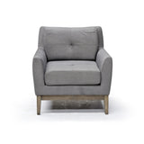 Accent Chair in Grey - Colton
