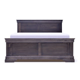 Solid Wood Canadian-Made Queen Storage Bed - Louis Rustique