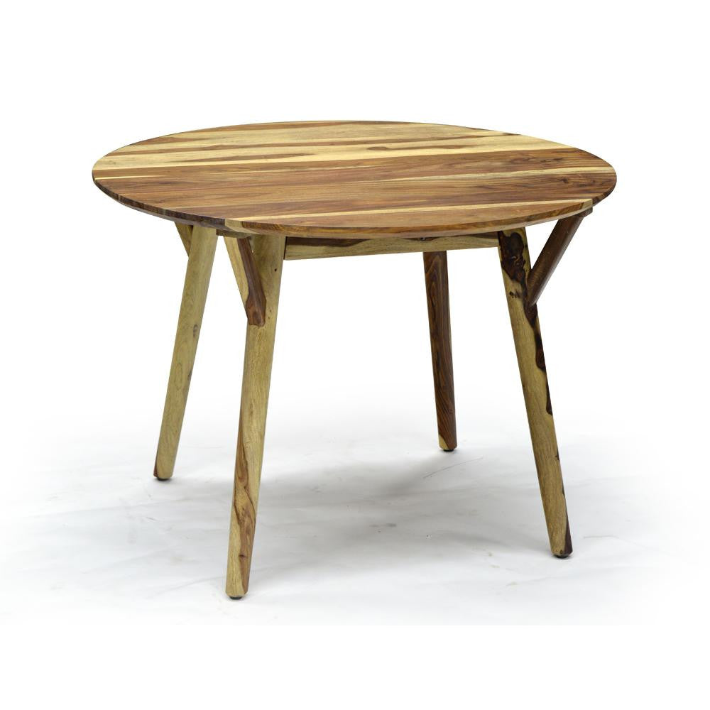 Organic Sheesham Dining Table - Mira