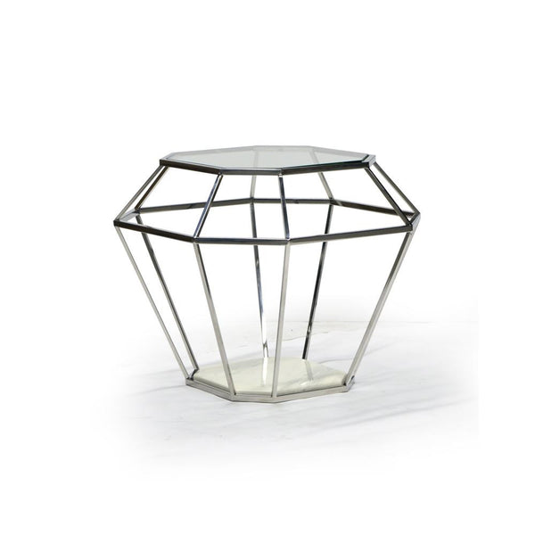 Glass End Table - Venus