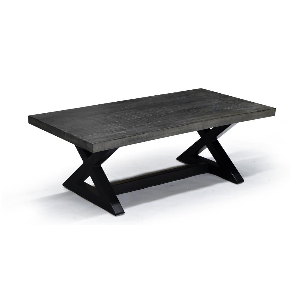 Rustic Modern Styling Coffee Table - Zax