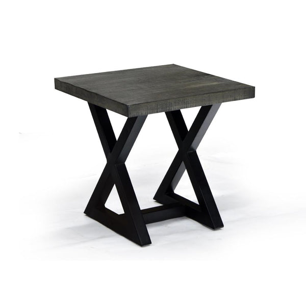 Rustic Modern Styling End Table - Zax