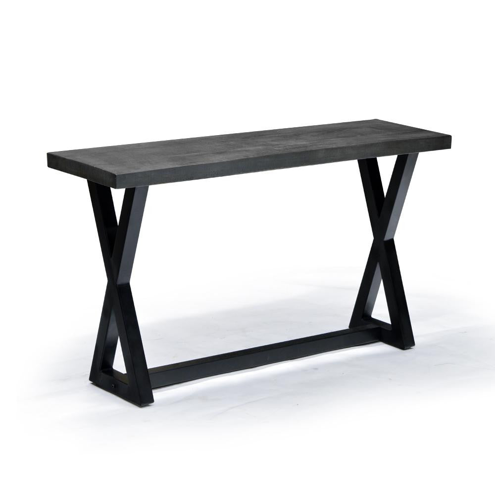 Rustic Modern Styling Console Table - Zax