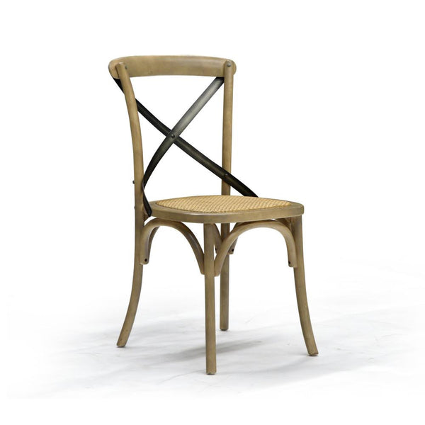 Sundried Dining Chair - Cross Back