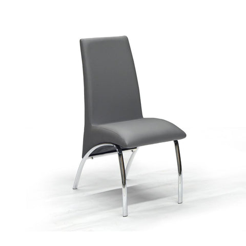 Grey Color Dining Chair - Ophelia