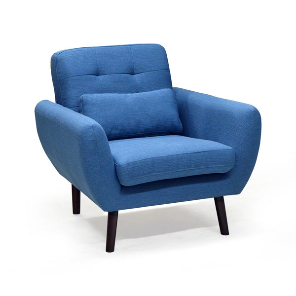 Contemporary Chair in fabric - 9013