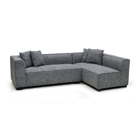 Contemporary Fabric Sectional Sofa- 9916