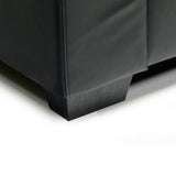 Contemporary Black Sofa - 9071