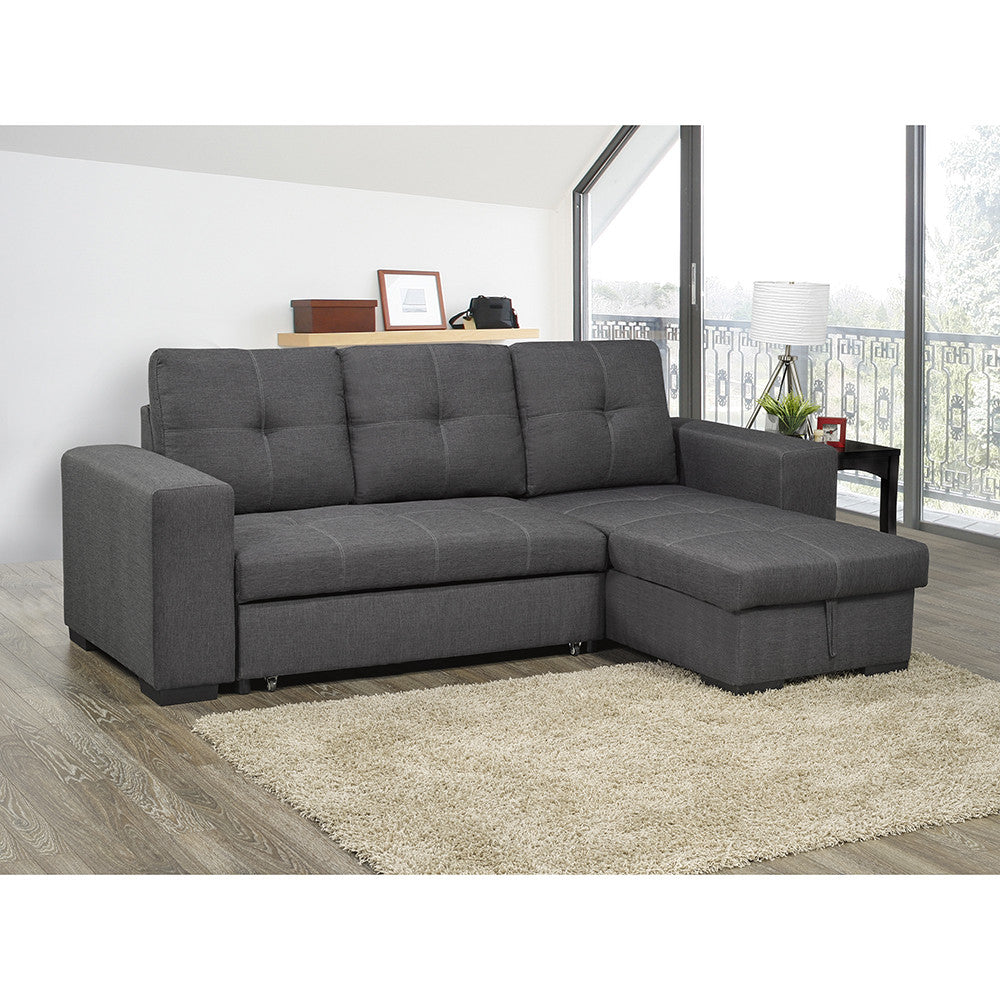 edmonton furniture store stationary sectional pull out sofa bed rh idealhomefurnishings ca sectional pull out couch canada sectional pull out couch