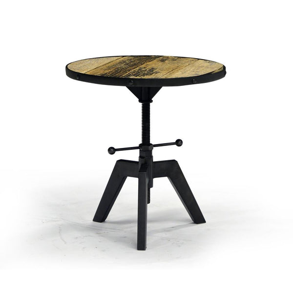 Reclaimed and Recylced Wood End Table - Kenya KNA33