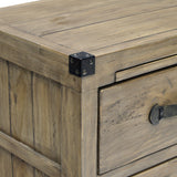Reclaimed and Recylced Wood Night Table - Wooden Forge