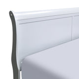 White Color Single Bed - 2147