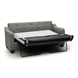 Transitional Pull Out Sofa Bed with Memory Foam Mattress - 9343