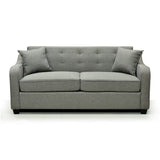 Transitional Pull Out Sofa Bed with 2 Pillows