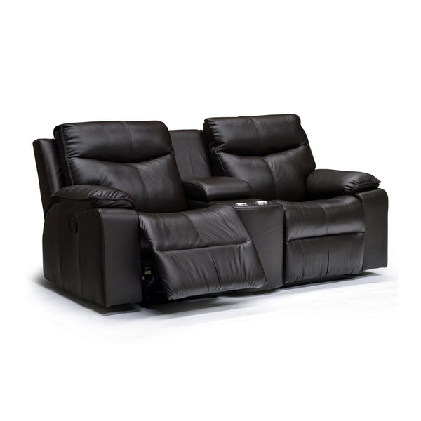 Palliser Custom Manuel Recliner Loveseat w/ Cup holder - Providence