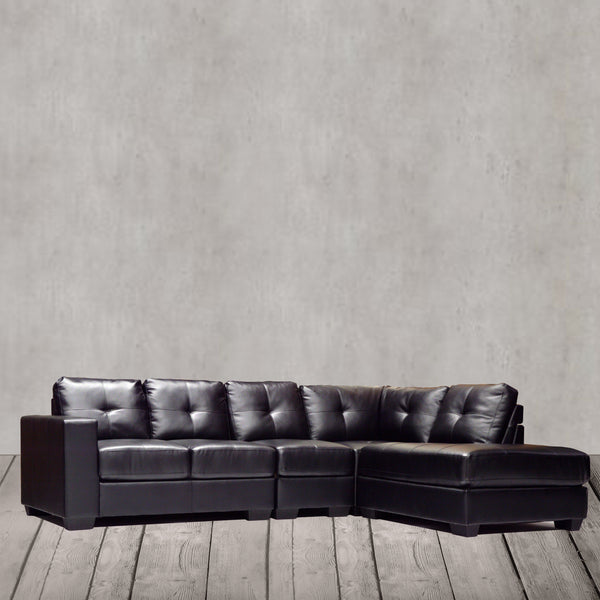 RHF Bonded Leather 4 Piece Sectional - 9411