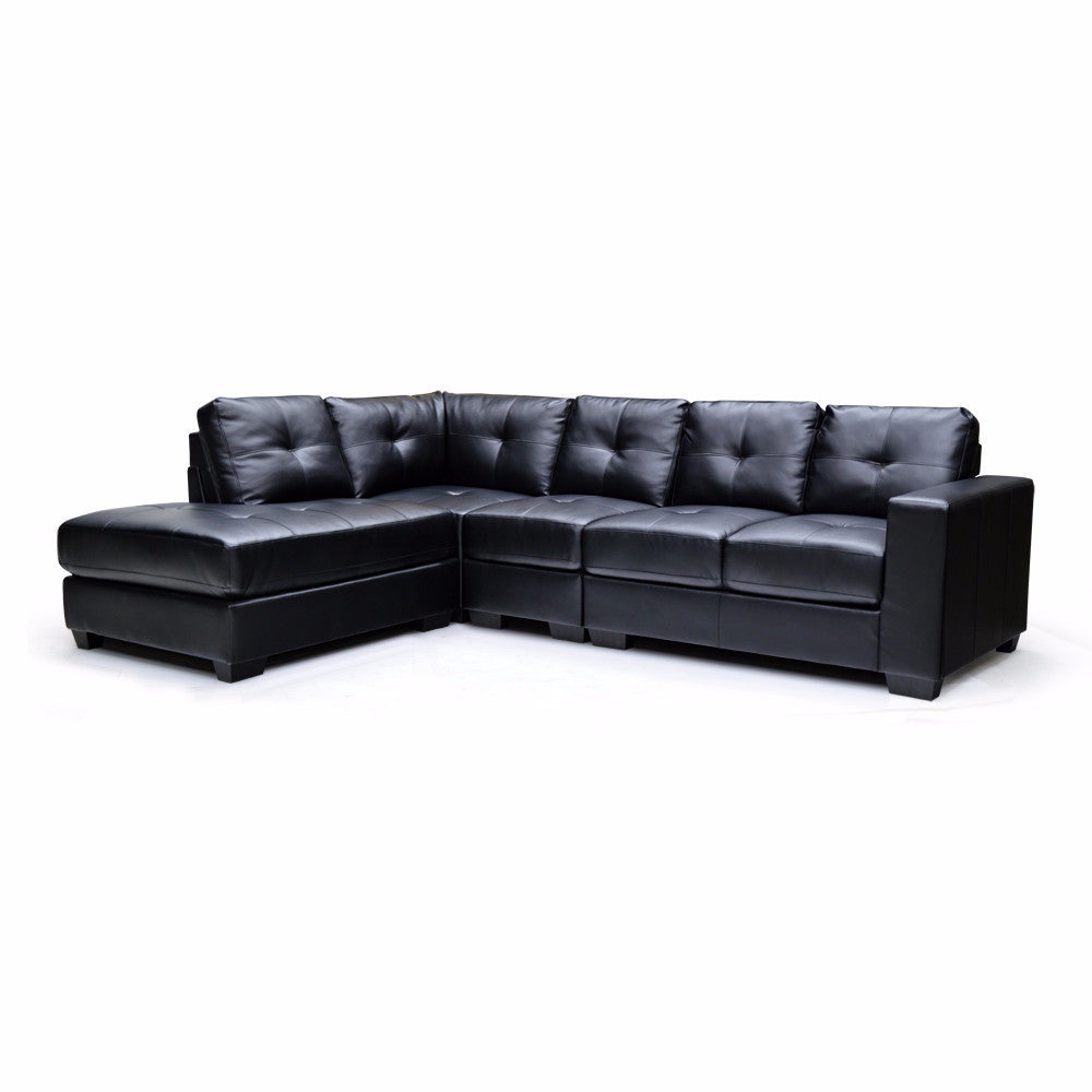 LHF Bonded Leather 4 Piece Sectional - 9411