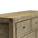 Reclaimed and Recycled Wood Dresser - Post & Rail