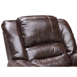 Nailhead Trimmed Reclining Loveseat - 9596