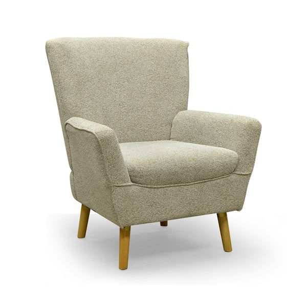 Contemporary Fabric Accent Chair- A6020