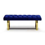 Double Bench in Blue Color - Angelica