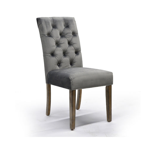 Side Chair in Grey - Avania