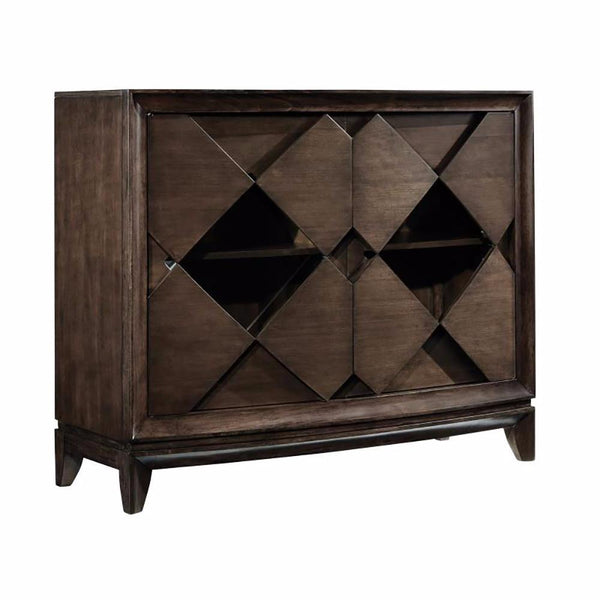 Media Chest with 2 Glass Doors- B4283-36