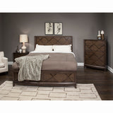 Complete Queen Panel Storage Bed