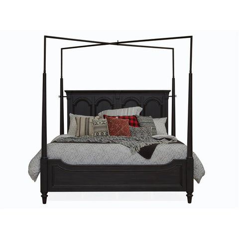 Hudson Square Complete King Canopy Bed -B4382-66