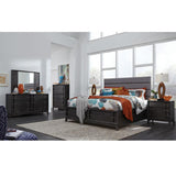 Proximity Heights Queen Upholstered Storage Bed - B4450-51A