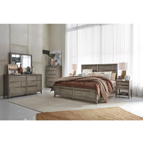 Edmonton Furniture Store | Nouveau Grey Modern Storage Bed - B4877 Atelier