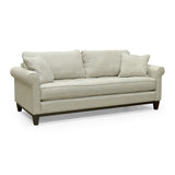 Edmonton Furniture Store | Palliser Roll Out Arm Bench Seat Custom Fabric Loveseat - Brook