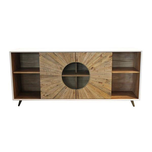 Reclaimed Solid Pallet Wood Sideboard - Casablanca