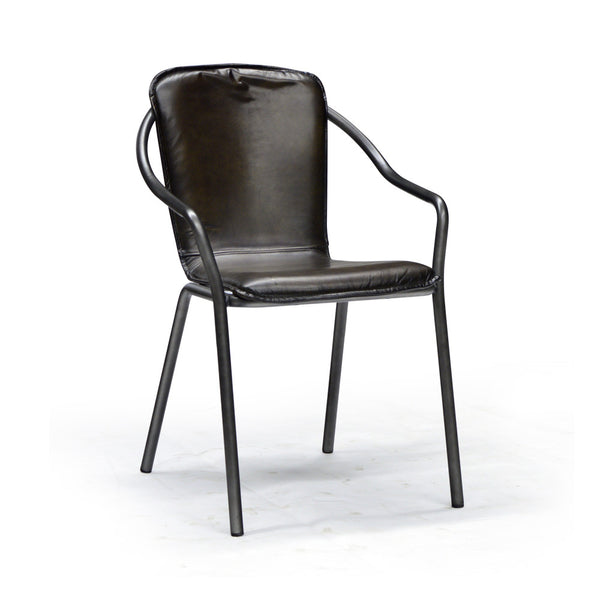 Real Leather Dining Chair - Casino
