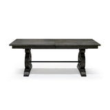 Rustic Solid Pine Dining Table - Bellamy