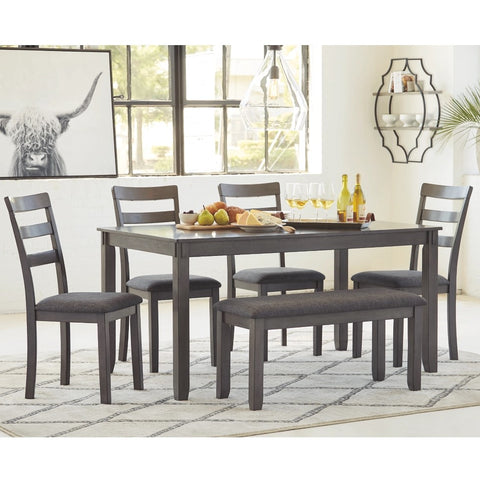 Edmonton Furniture Store | Transitional Dining Table Set - D383-325