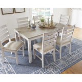 Edmonton Furniture Store | 7pc Dining Table Set - D394-425