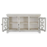 Edmonton Furniture Store | White Wash Rustic Solid Server  - Bronwyn