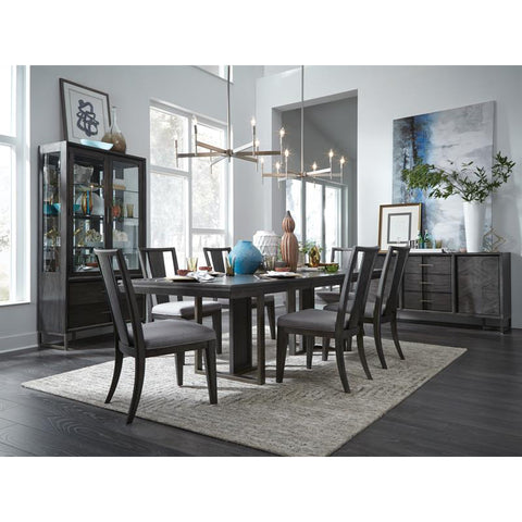 Edmonton Furniture Store | Proximity Heights Double Pedestal Table with 6 Chairs - D4450