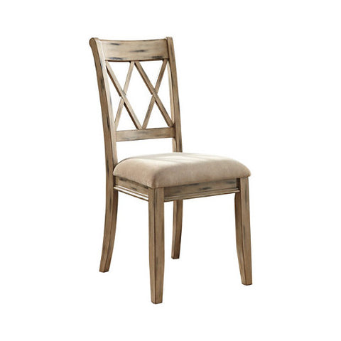 Antique White Dining Chair-D540-102